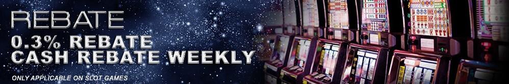 Deluxe77 Casino Malaysia Slot Rebate 0.3%