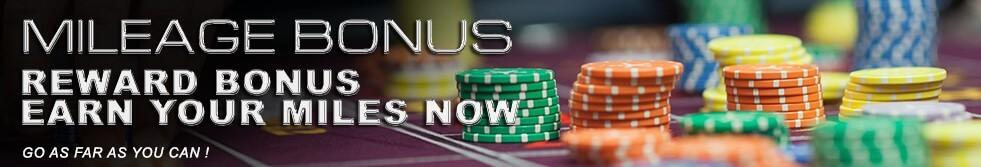Deluxe77 Casino Mileage Rewards Bonus
