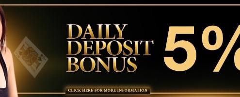 Enjoy4bet Casino Malaysia Deposit Bonus 5