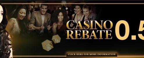 Enjoy4bet Casino Malaysia REBATE 0.5