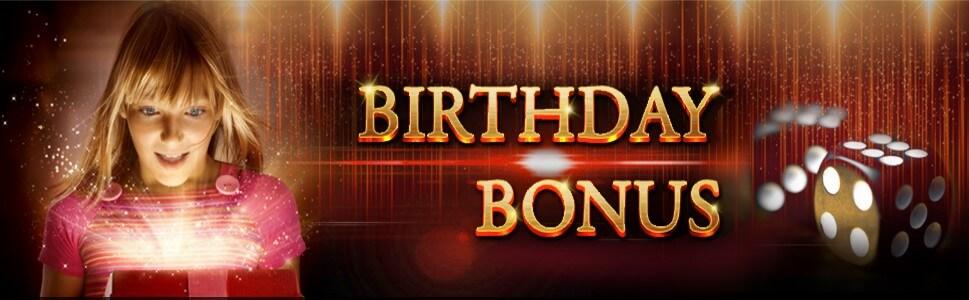 Mudahbet Casino Malaysia Birthday Bonus
