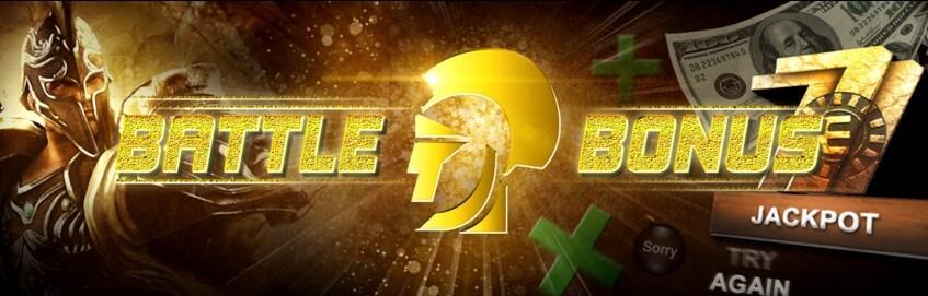 Arena777 Casino Malaysia Battle Bonus.