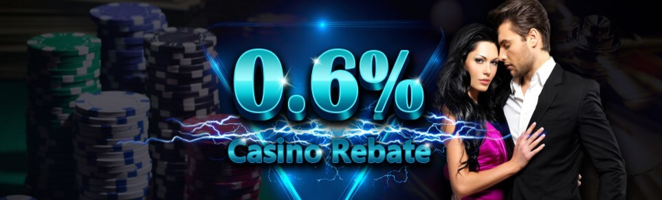 Mudahbet Casino Malaysia 0.6 Casino Rebate