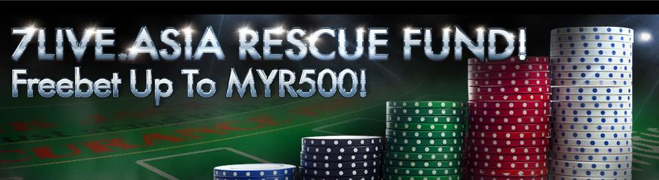 iBET-Casino-Malaysia-7liveasia-rescue-fund