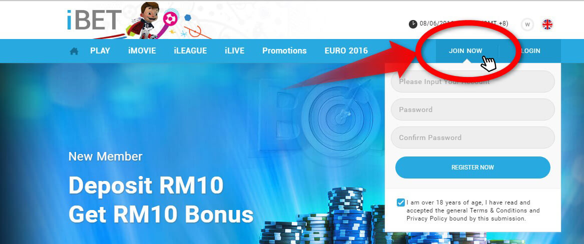 ibet-casino-malaysia-how-to-register
