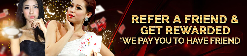 regal88 casino online malaysia refer friend bonus