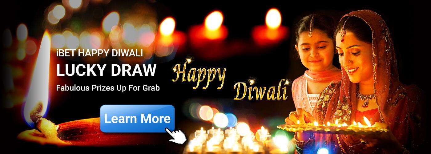 Casino Online Malaysia iBET Happy Diwali lucky Draw