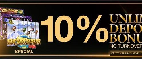 Enjoy4bet Casino Malaysia Daily Deposit Bonus 10%