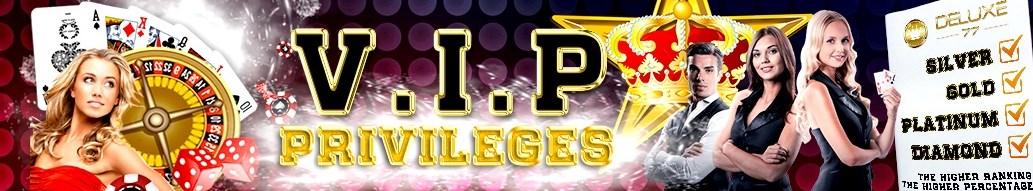 Deluxe77 Casino Malaysia VIP Privileges