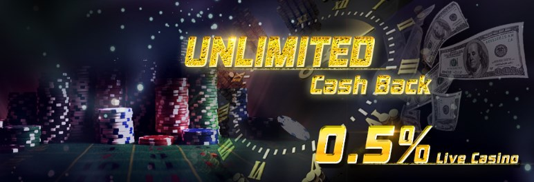 Arena777 Live Casino Unlimited Rebate 0.5%