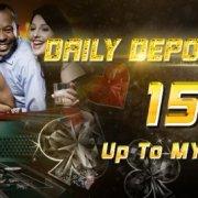Arena777 Casino Malaysia Daily Deposit Bonus