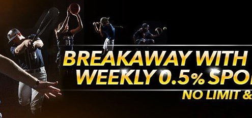 7LiveAsia Casino Malaysia Weekly Sport Rebate 0.5% Bonus