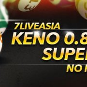 7liveasia Keno Super Cash Rebate Weekly 0.8%