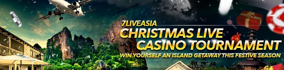 7liveasia Christmas Live Casino Tournament!