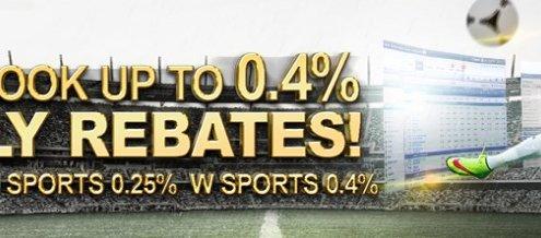 GGWin Casino Malaysia Sportsbook Up to 0.4% Rebates