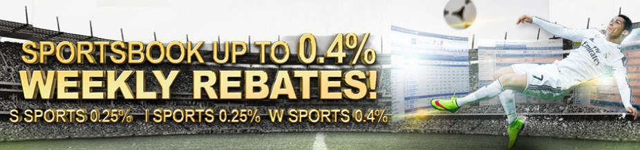 GGWin Casino Malaysia Sportsbook Up to 0.4% Rebates