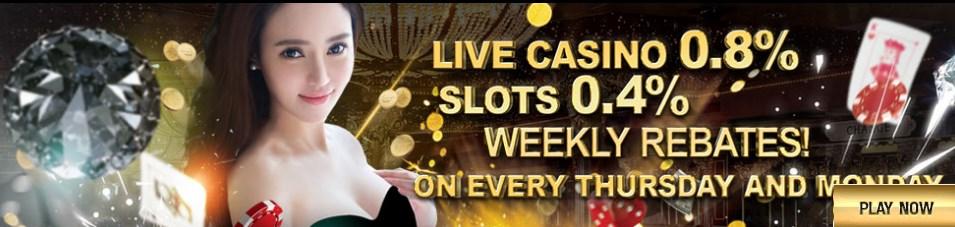 GGWin Casino Malaysia LIVE CASINO 0.8%