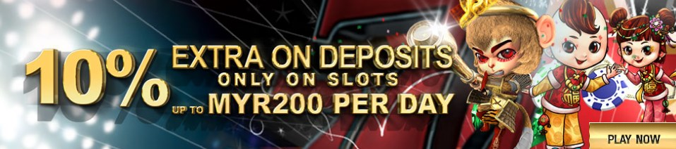 GGwin Casino Deposits only on Slots 10%