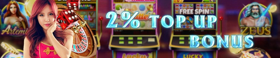 M8 Online Casino Malaysia 2% Top Up Bonus