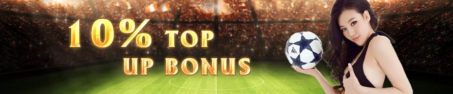 M8 Online Casino Malaysia 10% Top Up Bonus