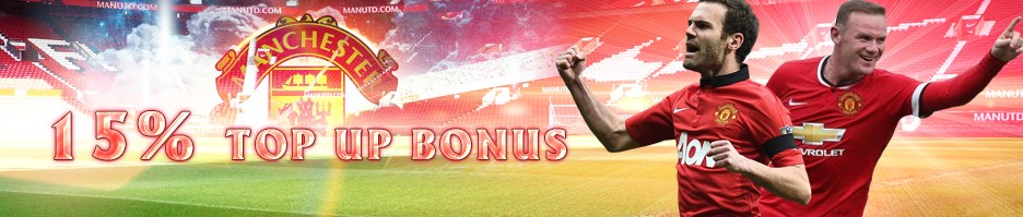 M8 Online Casino Malaysia 15% Top Up Bonus