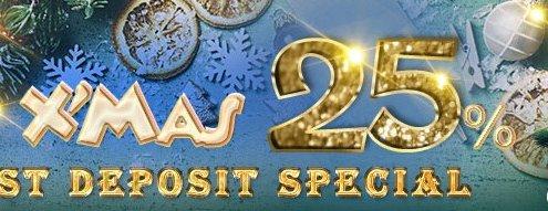 Deluxe77 Casino Malaysia Merry Xmas 25%