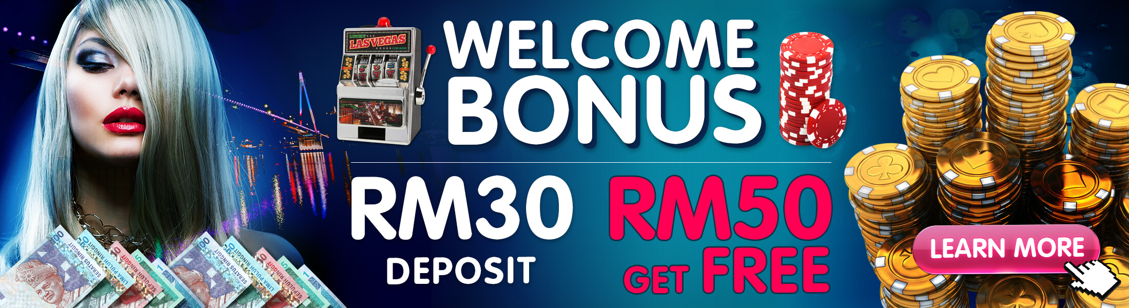 Casino Malaysia Deposit 30 free 50 Promotion