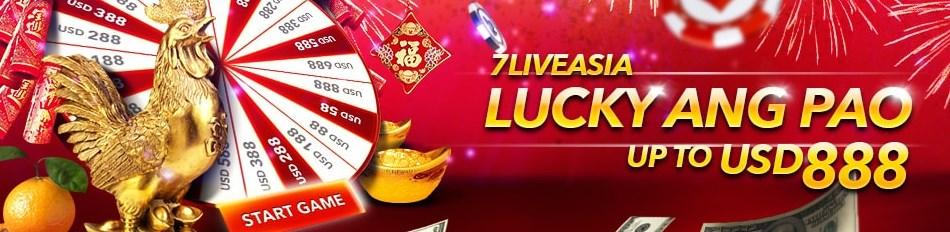 7liveasia Malaysia Lucky Draw Ang Pao