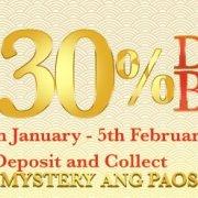 GGWin Casino Enjoy 30% Deposit Bonus