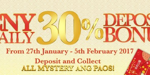 GGWin Casino Enjoy 30% Deposit Bonus