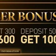 Enjoy4Bet 100% Welcome Bonus New Member First Deposit Bonus