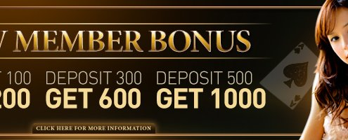 Enjoy4Bet 100% Welcome Bonus New Member First Deposit Bonus
