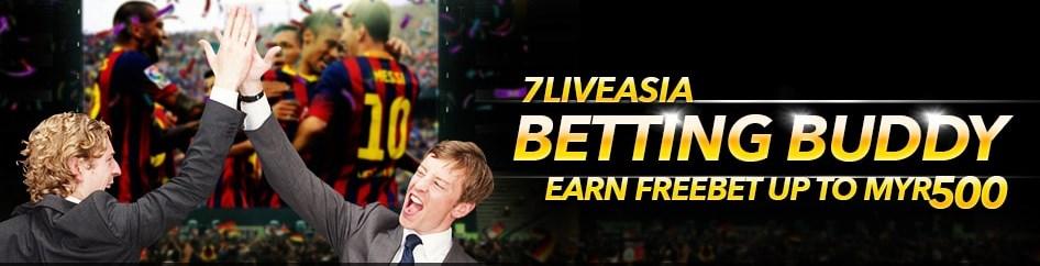 7Liveasia Casino Malaysia Referral Bonus