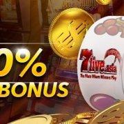 7Liveasia Malaysia 10% Slot Deposit Bonus