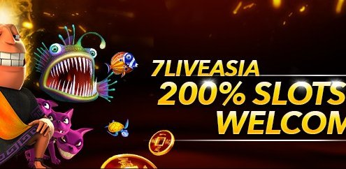 7Liveasia Casino 200% Slots Welcome Bonus