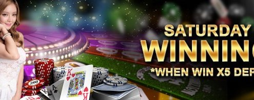 Regal88 Casino Malaysia Saturday Winning extra 10%