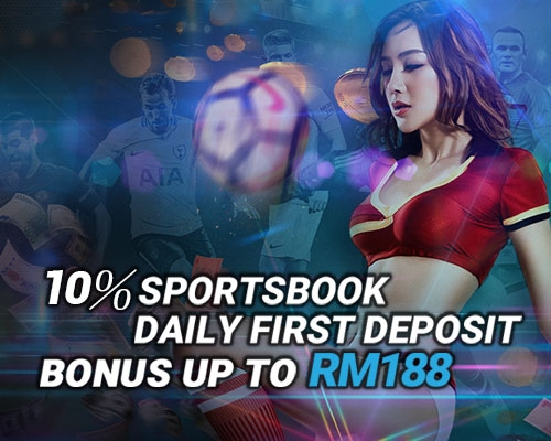 Casino Malaysia recommend iBET Casino - 10% Sportsbook daily first deposit bonus up to RM188