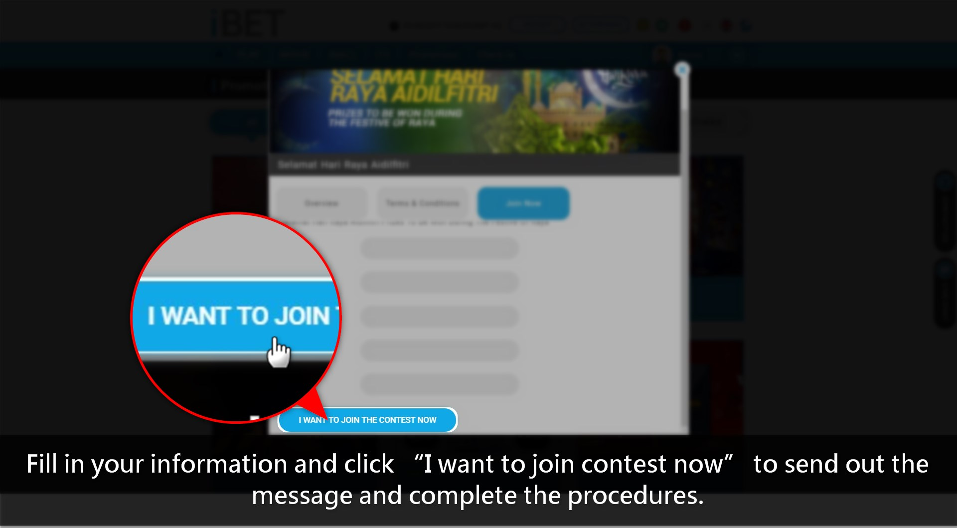 Casino Malaysia Teach How To Get Lucky Draw in iBET