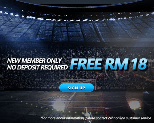 New iBET registration gets instant RM18 FREE